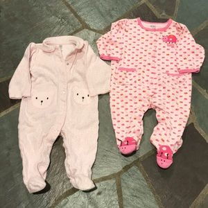 Set of 2 Carter's One Pieces